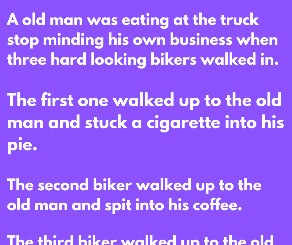 The Truck stop and The Bikers